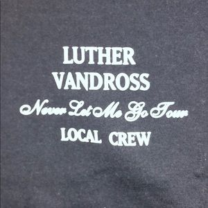 Luther Vandross Local Crew T Shirt XL